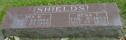 SHIELDS, IRA H. - Cerro Gordo County, Iowa | IRA H. SHIELDS
