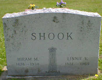 SHOOK, HIRAM M. - Cerro Gordo County, Iowa | HIRAM M. SHOOK