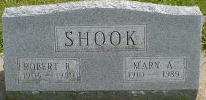 SHOOK, MARY A. - Cerro Gordo County, Iowa | MARY A. SHOOK