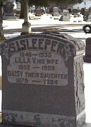 SLEEPER, DAISY - Cerro Gordo County, Iowa | DAISY SLEEPER