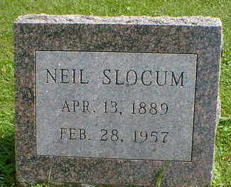 SLOCUM, NEIL - Cerro Gordo County, Iowa | NEIL SLOCUM