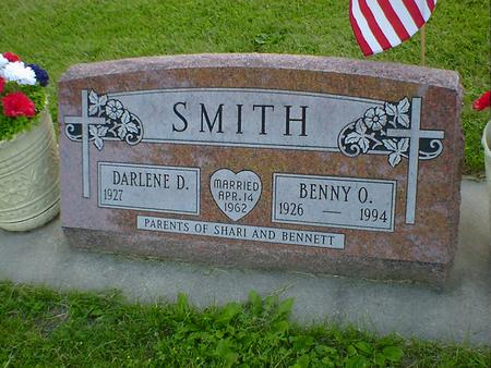 SMITH, BENNY O. - Cerro Gordo County, Iowa | BENNY O. SMITH