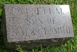 SMITH, EVERETT M. - Cerro Gordo County, Iowa   EVERETT M. SMITH