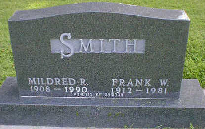 SMITH, FRANK W. - Cerro Gordo County, Iowa | FRANK W. SMITH