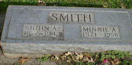 SMITH, MINNIE A. - Cerro Gordo County, Iowa | MINNIE A. SMITH