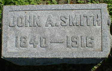 SMITH, JOHN A. - Cerro Gordo County, Iowa | JOHN A. SMITH
