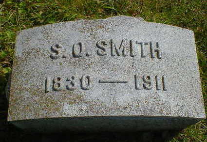 SMITH, S. O. - Cerro Gordo County, Iowa | S. O. SMITH