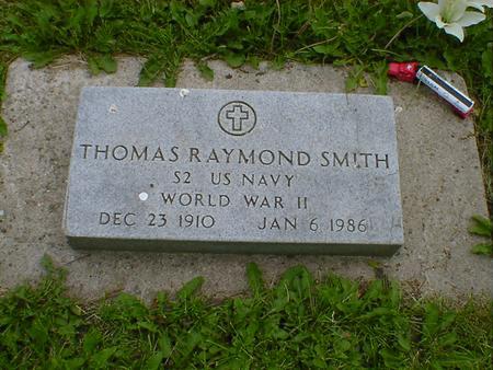 SMITH, THOMAS RAYMOND - Cerro Gordo County, Iowa | THOMAS RAYMOND SMITH