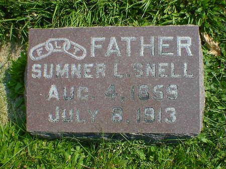 SNELL, SUMNER L. - Cerro Gordo County, Iowa | SUMNER L. SNELL