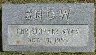 SNOW, CHRISTOPHER RYAN - Cerro Gordo County, Iowa | CHRISTOPHER RYAN SNOW