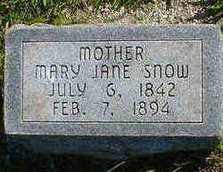 SNOW, MARY JANE - Cerro Gordo County, Iowa | MARY JANE SNOW