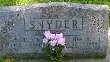 SNYDER, GEORGE E. - Cerro Gordo County, Iowa | GEORGE E. SNYDER