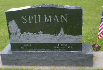 SPILMAN, ORVAL - Cerro Gordo County, Iowa | ORVAL SPILMAN