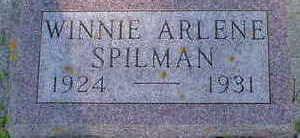SPILMAN, WINNIE ARLENE - Cerro Gordo County, Iowa | WINNIE ARLENE SPILMAN