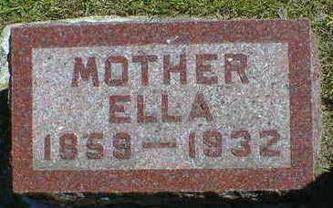 SPRINGER, ELLA - Cerro Gordo County, Iowa   ELLA SPRINGER