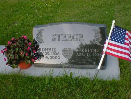 STEEGE, BONNIE - Cerro Gordo County, Iowa | BONNIE STEEGE