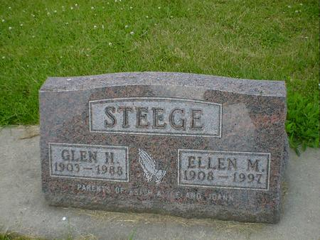 STEEGE, GLEN H. - Cerro Gordo County, Iowa | GLEN H. STEEGE