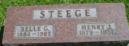 STEEGE, BELLE G. - Cerro Gordo County, Iowa | BELLE G. STEEGE