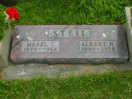 STEIL, MABEL I. - Cerro Gordo County, Iowa | MABEL I. STEIL