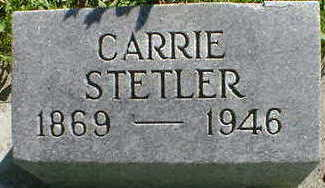 STETLER, CARRIE - Cerro Gordo County, Iowa | CARRIE STETLER