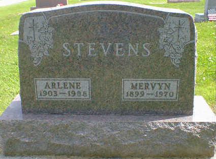 STEVENS, MERVYN - Cerro Gordo County, Iowa | MERVYN STEVENS