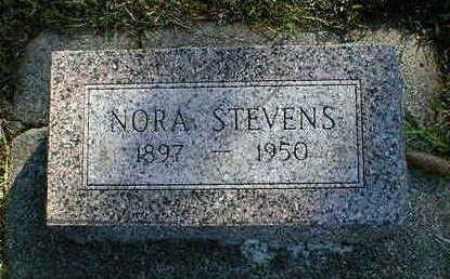 STEVENS, NORA - Cerro Gordo County, Iowa | NORA STEVENS