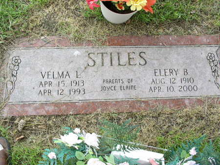 STILES, VELMA (CARROLL) - Cerro Gordo County, Iowa | VELMA (CARROLL) STILES