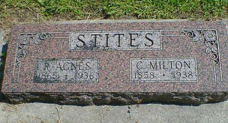 STITES, R. AGNES - Cerro Gordo County, Iowa | R. AGNES STITES