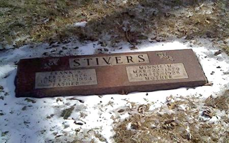 STIVERS, MINNIE - Cerro Gordo County, Iowa | MINNIE STIVERS