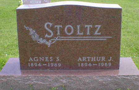 STOLTZ, AGNES S. - Cerro Gordo County, Iowa | AGNES S. STOLTZ