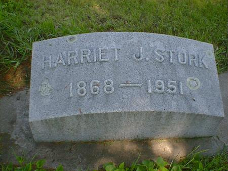 STORK, HARRIET J. - Cerro Gordo County, Iowa | HARRIET J. STORK