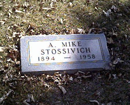 STOSSIVICH, A. MIKE - Cerro Gordo County, Iowa | A. MIKE STOSSIVICH