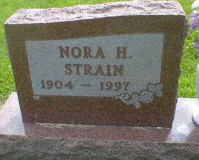 STRAIN, NORA - Cerro Gordo County, Iowa | NORA STRAIN