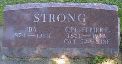 STRONG, IDA - Cerro Gordo County, Iowa | IDA STRONG