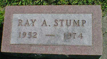 STUMP, RAY A - Cerro Gordo County, Iowa | RAY A STUMP