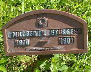 STURGES, MILDRED I. - Cerro Gordo County, Iowa | MILDRED I. STURGES