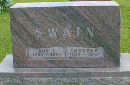 SWAIN, ROY A. - Cerro Gordo County, Iowa | ROY A. SWAIN