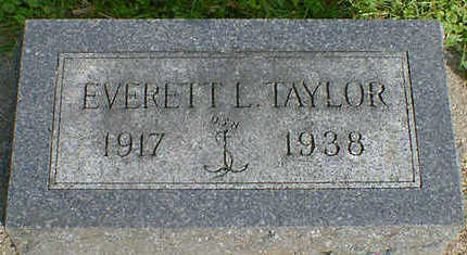 TAYLOR, EVERETT L. - Cerro Gordo County, Iowa | EVERETT L. TAYLOR