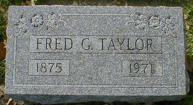 TAYLOR, FRED G. - Cerro Gordo County, Iowa | FRED G. TAYLOR