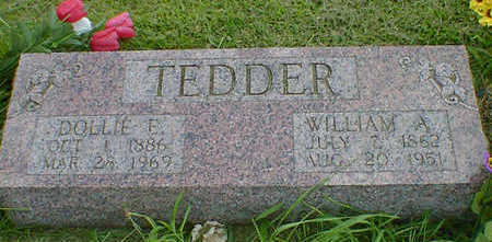 TEDDER, WILLIAM A. - Cerro Gordo County, Iowa | WILLIAM A. TEDDER