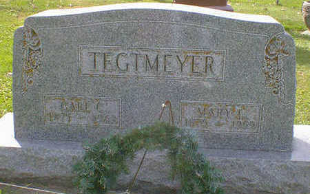 TEGTMEYER, MARY L. - Cerro Gordo County, Iowa | MARY L. TEGTMEYER