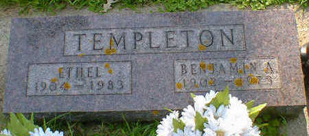 TEMPLETON, ETHEL - Cerro Gordo County, Iowa | ETHEL TEMPLETON