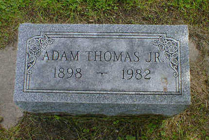THOMAS, ADAM JR. - Cerro Gordo County, Iowa | ADAM JR. THOMAS