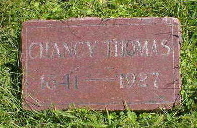 THOMAS, CHANCY - Cerro Gordo County, Iowa | CHANCY THOMAS