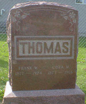 THOMAS, FRANK W. - Cerro Gordo County, Iowa | FRANK W. THOMAS