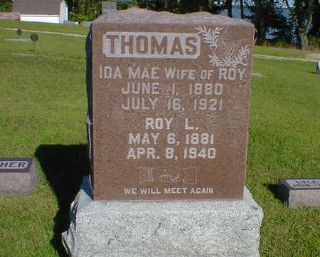 THOMAS, ROY L. - Cerro Gordo County, Iowa | ROY L. THOMAS