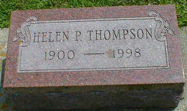 THOMPSON, HELEN P. - Cerro Gordo County, Iowa | HELEN P. THOMPSON