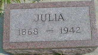 THOMPSON, JULIA - Cerro Gordo County, Iowa | JULIA THOMPSON