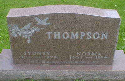 THOMPSON, SYDNEY - Cerro Gordo County, Iowa | SYDNEY THOMPSON