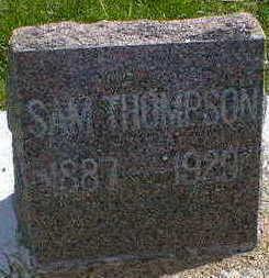 THOMPSON, SAM - Cerro Gordo County, Iowa   SAM THOMPSON